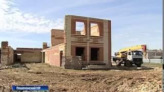 Строительство детского сада в Пошехонье возобновили после двухлетнего простоя