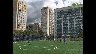 Во дворена улице Ташкентская завершается установка инвентаря