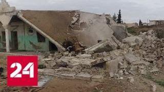 В Сирии правительственные войска отбили территории в привинции Идлиб - Россия 24