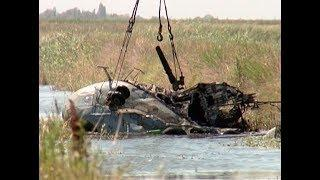 В Красноармейском районе разбираются в причинах крушения вертолета