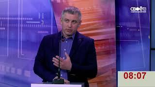Теледебаты с участием доверенных лиц кандидатов в президенты РФ Бориса Титова и Григория Явлинского