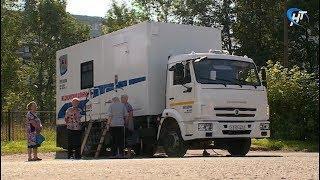 В Великом Новгороде по выходным будет работать передвижной маммограф