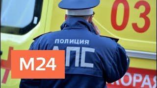 При ДТП в Подмосковье пострадали девять человек и погиб один - Москва 24