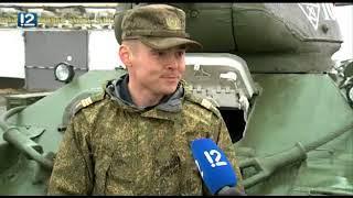 Служивший памятником танк Т-34 возглавит колонну военной техники на 9 Мая