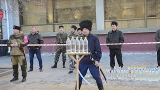 Всероссийский день памяти подвига казаков на защите Москвы. Саратов 18.11.18