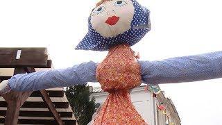 Масленица на Кубани: в Краснодаре на Пушкинской площади открыли ярмарку