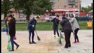 В Копейске вандалы разрушили фонтан, отреставрированный ко Дню города