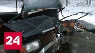 В ДТП под Псковом пострадал 21 человек - Россия 24