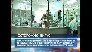 В Самарской области резко выросло заболеваемость гриппом и ОРВИ