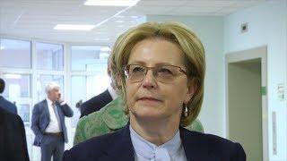 Министр в поликлинике – Вероника Скворцова посетила Саранск