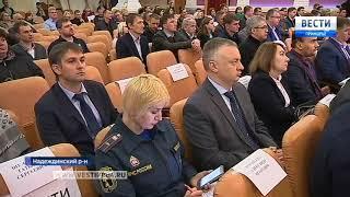 Представители краевого парламента осмотрели ТОР «Надеждинская»