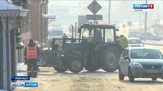В Барнауле и его пригороде в этом году отремонтируют 117 километров дорог