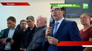На вопросы погорельцев отвечали представители власти - ТНВ