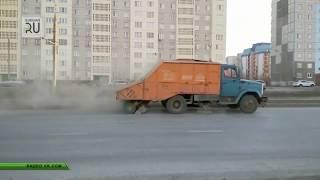 Уборка в Кургане: наш город — это «алмаз в пыли», от которой нечем дышать