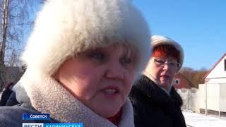 В Советске газовщики оставили после себя разбитые дороги