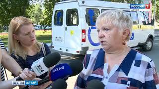 Мэрия Барнаула купила автомобиль для нужд людей с ограниченными возможностями здоровья