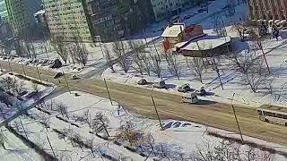 ДТП (авария г. Волжский) ул. Дружбы ул. 40 лет Победы 05-03-2018 09-02