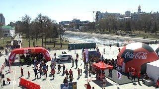 КУБОК ЧМ-2018 собрал в центре Екатеринбурга тысячи футбольных фанатов