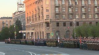 В Волгограде прошла репетиция парада Победы