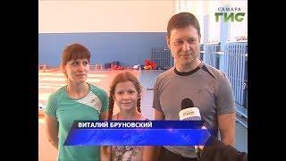 Специальный репортаж. «Папа, мама, я – спортивная семья»