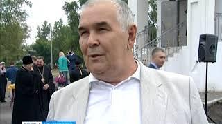 В Гвардейском парке Красноярска прошло освящение храма