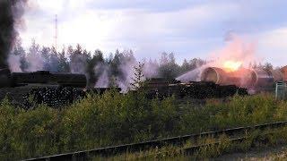 Пожарные Нижневартовска предотвратили взрыв: в столице Самотлора горела цистерна