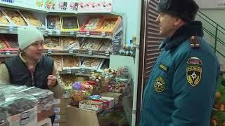 МЧС проверяет рынки и торговые центры Калининграда