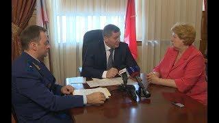 Губернатор Андрей Бочаров провел прием граждан по поручению Президента РФ