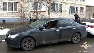 Сотрудники Московского уголовного розыска задержали подозреваемых в серии краж автомобилей
