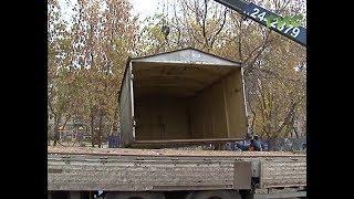 Клумбы вместо железных коробок. В Советском районе продолжается снос незаконных гаражей