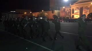Репетиция Парада Победы с военной техникой началась в Ставрополе 1