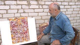 Волгоградский художник Сергей Борисов посвятил футболу серию картин