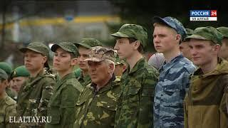 Стартовали военно-учебные сборы для старшеклассников