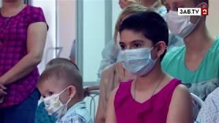 Громкий смех Марата Башарова развеселил пациентов онкологического диспансера
