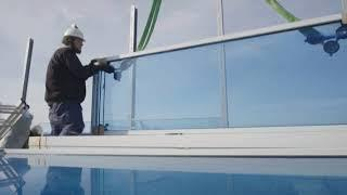 На Крымском мосту установили шумозащитные экраны