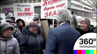 В центре Москвы полицейские задержали участников пикета против Грудинина