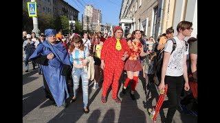 Шествие аниме в Воронеже.