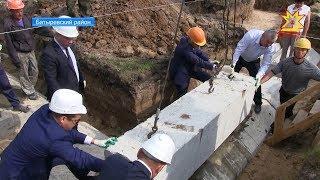 В деревне Бахтигильдино Батыревского района заложили фундамент нового дома культуры.