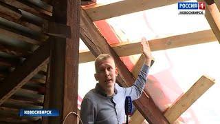 Жители дома по улице Колхидской жалуются на текущую с крыши воду