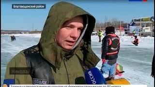 Любители экстремального вождения состязались на Чигиринском водохранилище