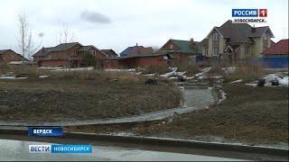 Бердские коммунальщики пытаются укротить вешние воды