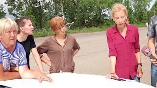 Жители посёлка Восточный встретились с первым замом главы мэрии Биробиджана (РИА Биробиджан)
