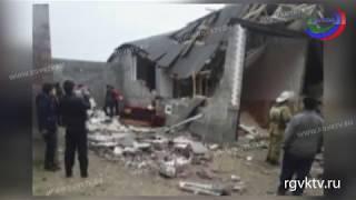 При взрыве газа в Хасавюртовском районе погиб человек