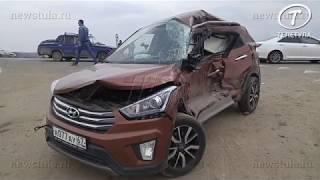 В ДТП на выезде из Тулы погибли два человека