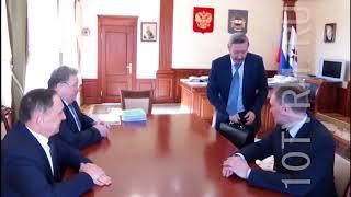 Подготовку Саранска к ЧМ-2018 обсудили Владимир Волков и Ринат Гильмутдинов
