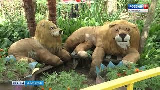 Герои сказок появились во дворах Смоленска