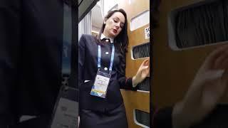 Новый плацкартный вагон РЖД. Видео Игоря Титова
