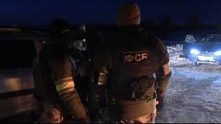 Появилось видео с места ликвидации террористов под Саратовом