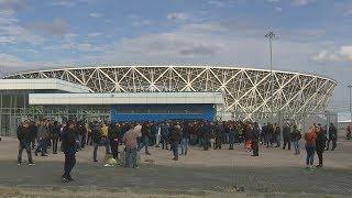 Продажа билетов на первый матч на «Волгоград Арене» вызвала большой ажиотаж