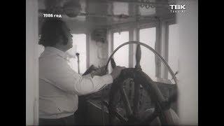 «Кинохроники Красноярья»: переправа в Новоселовском районе 1986 год